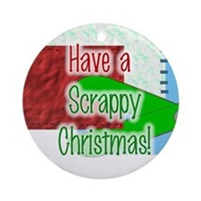Have A Scrappy Christmas Ornament