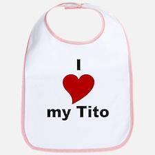 I Love My Tito Bib
