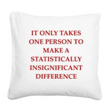 STATISTIC.png Square Canvas Pillow