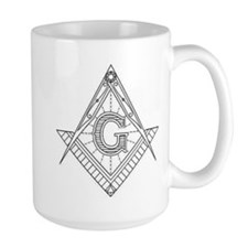 Lucid Square and Compasses Mug