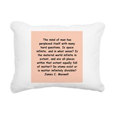 maxwell3.png Rectangular Canvas Pillow