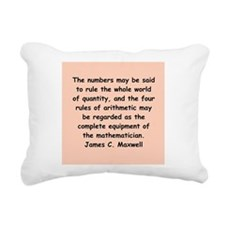 maxwell5.png Rectangular Canvas Pillow