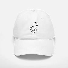 Hand Drawn Duck Baseball Baseball Cap
