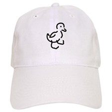 Hand Drawn Duck Baseball Cap