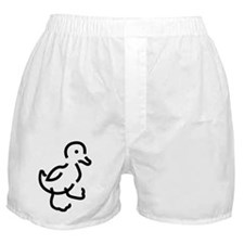 Hand Drawn Duck Boxer Shorts