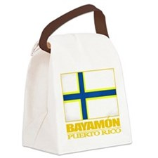 Bayamon Flag2.png Canvas Lunch Bag