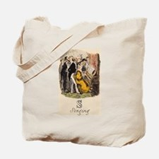 S is for Singing Tote Bag
