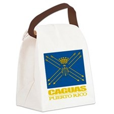 Caguas Flag.png Canvas Lunch Bag