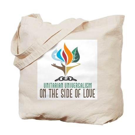 UU On the Side of Love Tote Bag