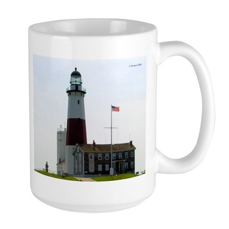 Montauk Lighthouse~Large Mug for Lefties