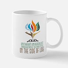 UUCQC On the Side of Love Mug