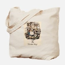 K is for Kitchen Tote Bag