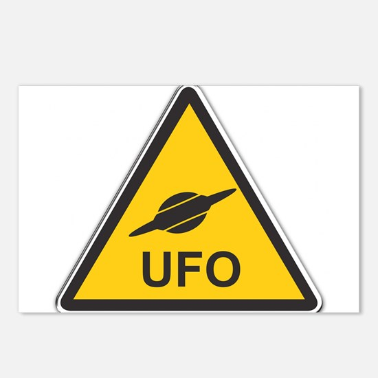UFO Postcards (Package of 8)