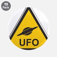 """UFO 3.5"""" Button (10 pack)"""