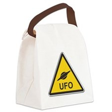 UFO Canvas Lunch Bag