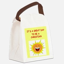 CHRISTIAN.png Canvas Lunch Bag
