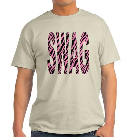 SWAG pink zebra stripes Light T-Shirt