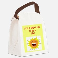 JEW.png Canvas Lunch Bag