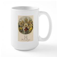 H is for Holidays Mug