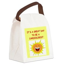 CARDIOLOGIST.png Canvas Lunch Bag