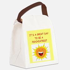 PSYCHIATRIST.png Canvas Lunch Bag