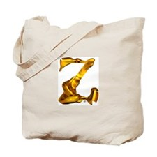 Blown Gold Z Tote Bag