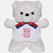 Cavalier King Charles Spaniel Mom Teddy Bear