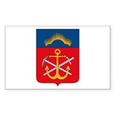 Murmansk Coat of Arms Rectangle Decal