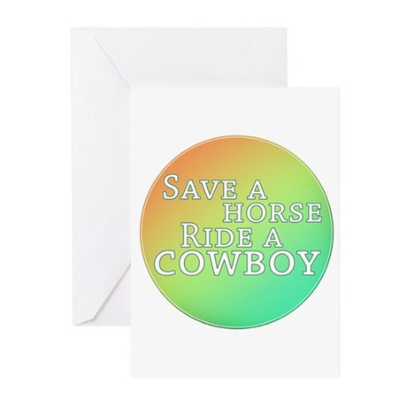 Save a horse... Greeting Cards (Pk of 10)