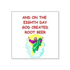 "ROOTBEER.png Square Sticker 3"" x 3"""