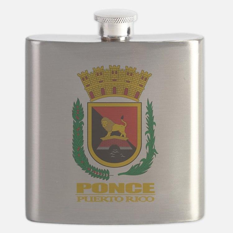 Ponce COA.png Flask