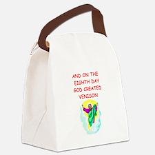 VENISON.png Canvas Lunch Bag