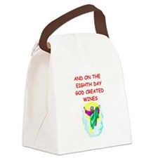 WINES.png Canvas Lunch Bag