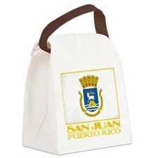 San Juan Flag.png Canvas Lunch Bag