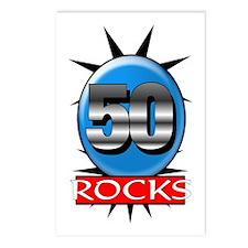 50 Rocks Postcards (Package of 8)