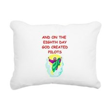 PILOTS.png Rectangular Canvas Pillow