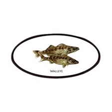 Walleye (pair) Patches