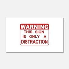 Distraction Car Magnet 20 x 12