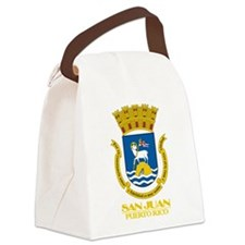 San Juan COA.png Canvas Lunch Bag