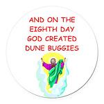 DUNEBUGGIES.png Round Car Magnet