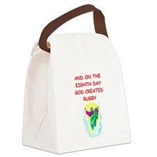 RUGBY.png Canvas Lunch Bag