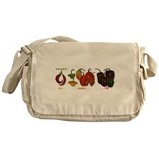 Hot Peppers Messenger Bag