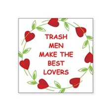 "TRASH.png Square Sticker 3"" x 3"""