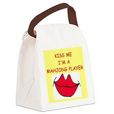 MAHJONG.png Canvas Lunch Bag