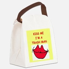 TRASH.png Canvas Lunch Bag