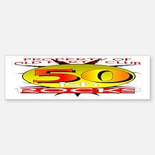 50ish Old Farts Club Bumper Bumper Bumper Sticker