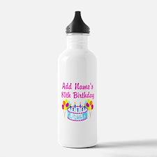 HAPPY 80TH BIRTHDAY Water Bottle