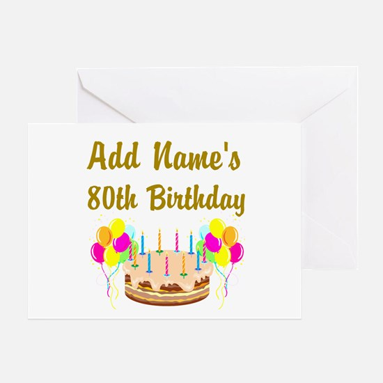 80Th Birthday 80th Birthday Greeting Cards – Images of Birthday Greeting