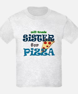 will trade sister for pizza Kids Light Tee