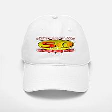 50ish Old Farts Club Baseball Baseball Cap